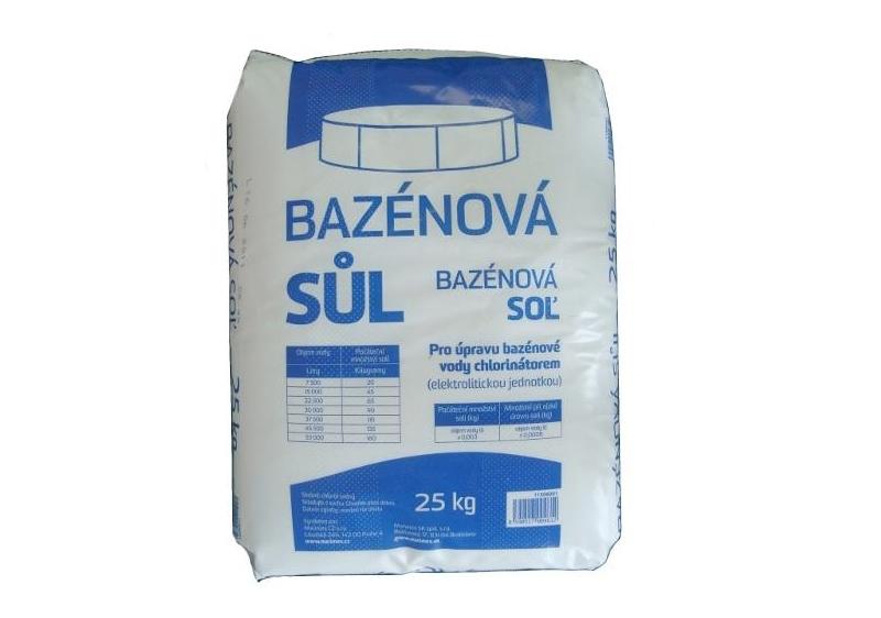 MARIMEX 11306001 Bazénová sůl 25 kg