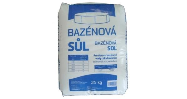 Bazénová sůl Marimex 25 kg v náhradním obalu