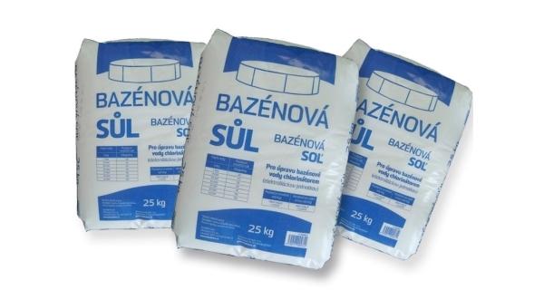 Bazénová sůl Marimex  - 3 x 25 kg
