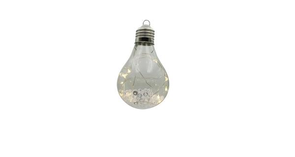 Crystal závěsná žárovka 10 LED