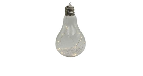 Crystal závěsná žárovka 15 LED