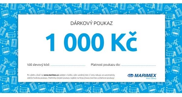 Dárkový poukaz - 1 000 Kč