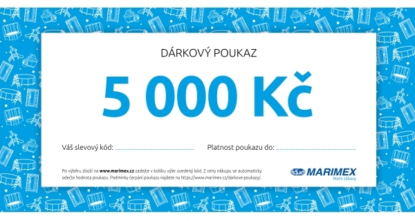 Dárkový poukaz  - 5 000 Kč