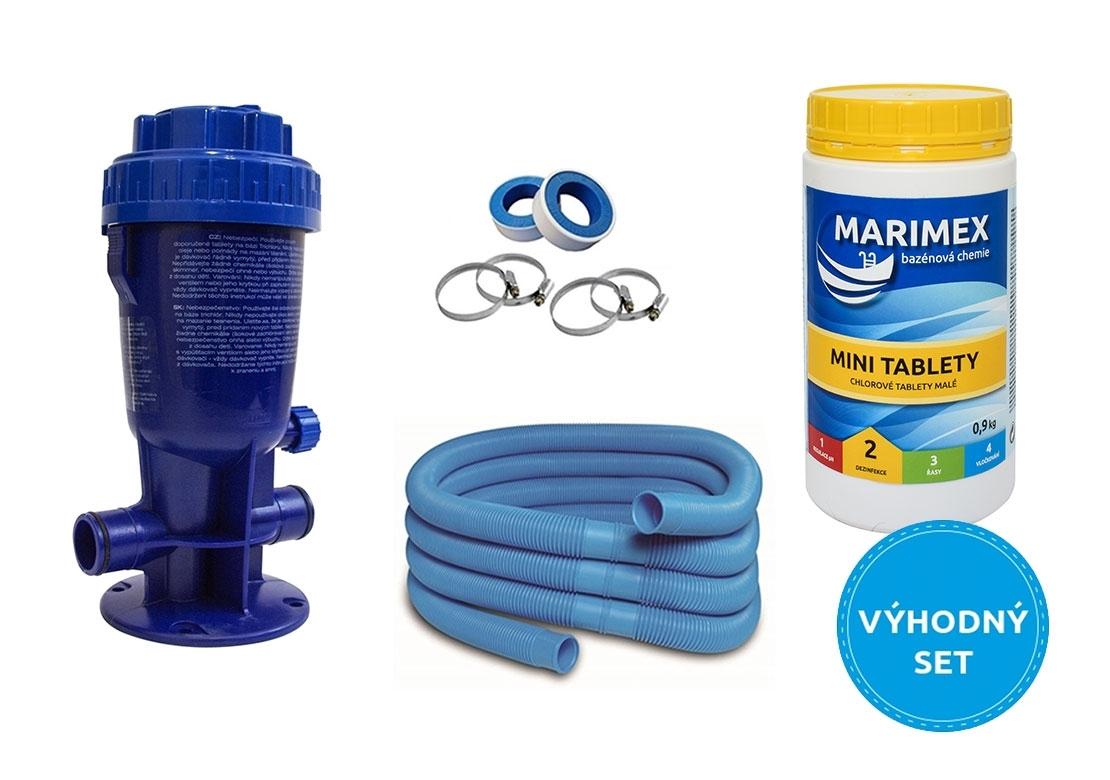 Marimex Dávkovač chloru Marimex + AquaMar Minitabs + příslušenství - 19900037