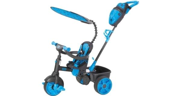 Deluxe Tříkolka 4v1 neonově modrá
