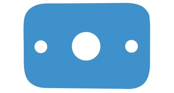Deska plavecká - modrá
