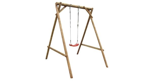 Dětská dřevěná houpačka Marimex 1