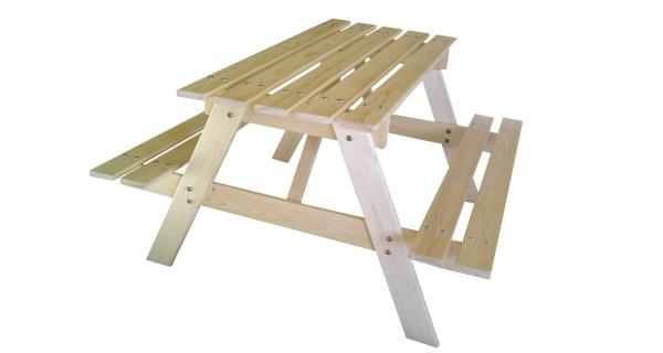 Dětská dřevěná souprava PIKNIK 70 cm