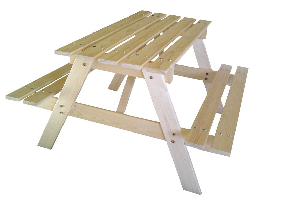 Marimex Dětská dřevěná souprava PIKNIK 70 cm - 11640359