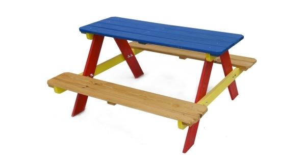 Dětská dřevěná souprava PIKNIK 85 cm