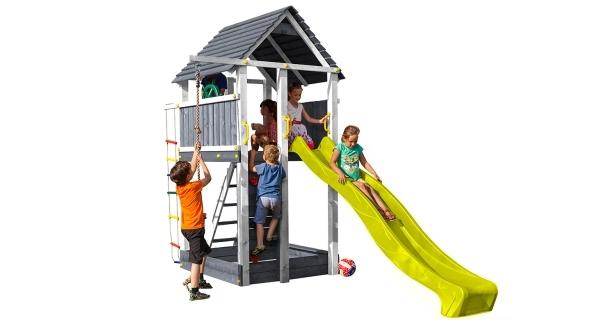 Dětské hřiště Marimex Play 004 - šedobílé