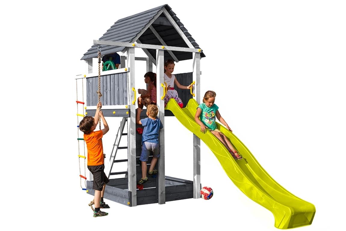 Marimex Dětské hřiště Marimex Play 004 - šedobílé - 11640449