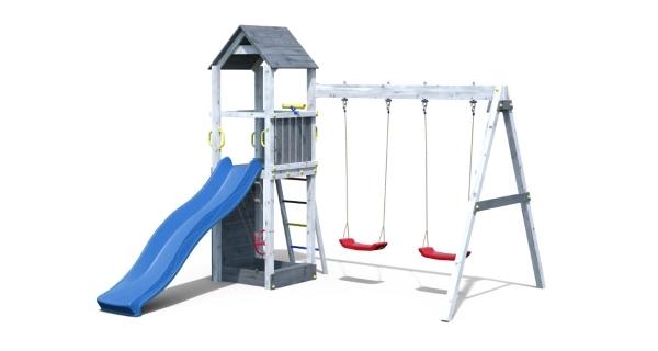 Dětské hřiště Marimex Play 006 - šedobílé