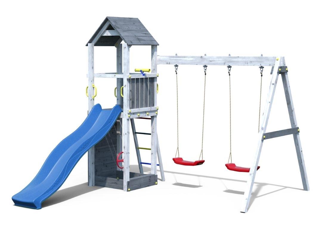 Marimex Dětské hřiště Marimex Play 006 - šedobílé - 11640392