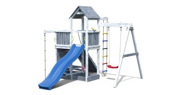 Dětské hřiště Marimex Play 009 - šedobílé