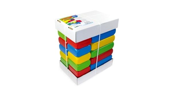 Dětské plastové kostky 25 ks