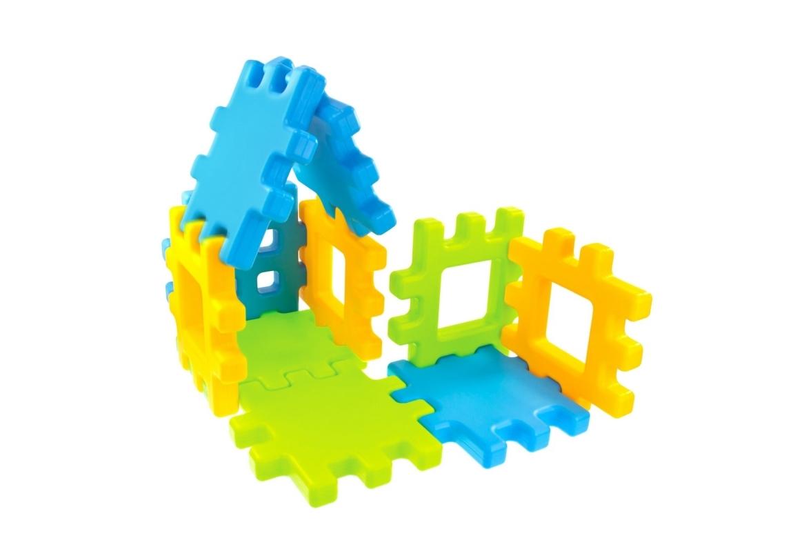Marimex Dětské plastové kostky Wafle 20 ks - 11640108
