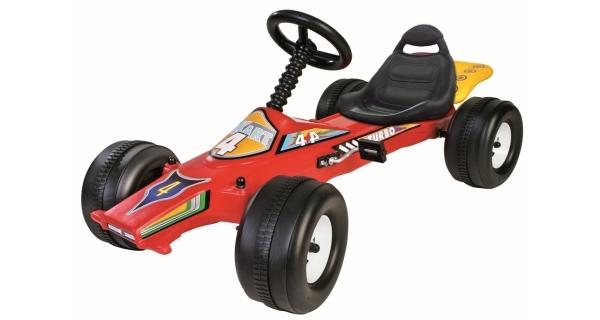Dětské šlapací autíčko - formule