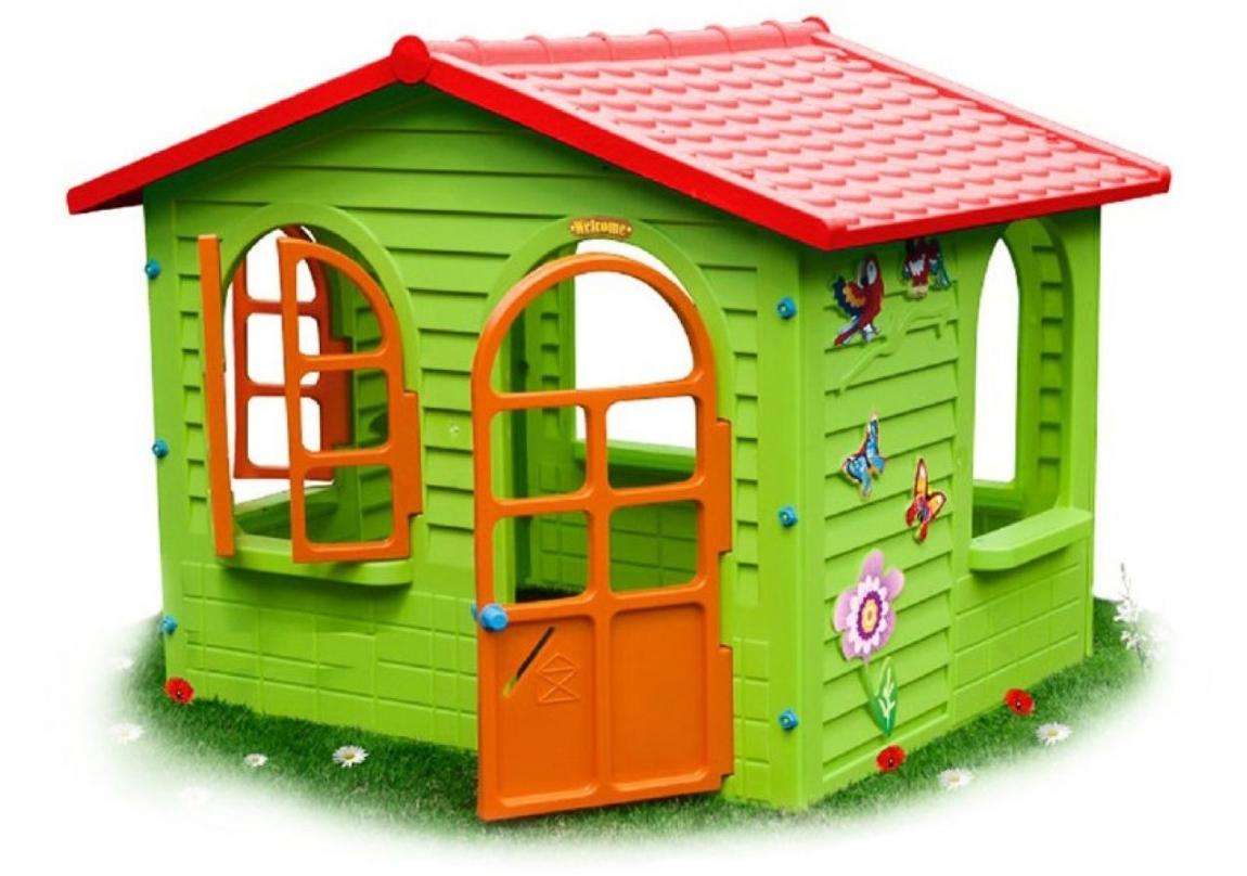 Mochtoys Dětský domeček Mochtoys Garden House - 11640084