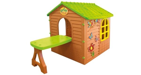 Dětský domeček Mochtoys se stolečkem