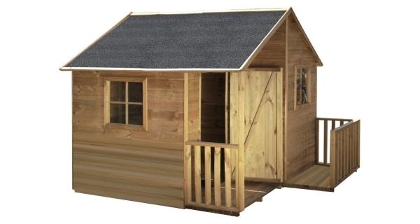 Dětský dřevěný domeček Chalupa