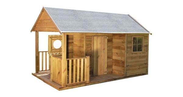 Dětský dřevěný domeček Farma