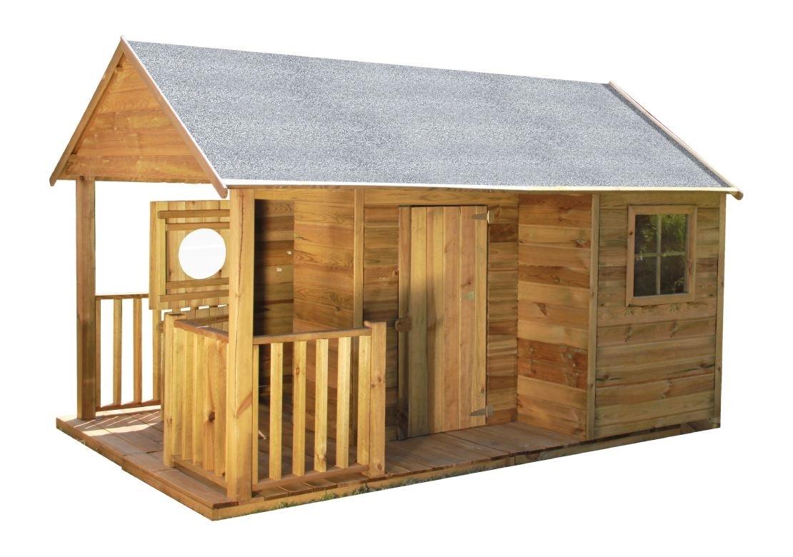 Marimex Dětský dřevěný domeček Farma - 11640426