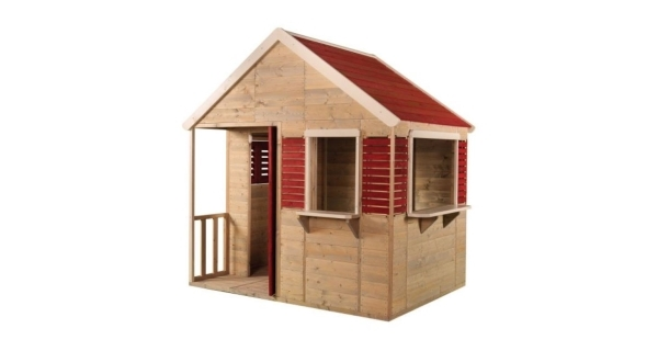 Dětský dřevěný domeček Letní vila