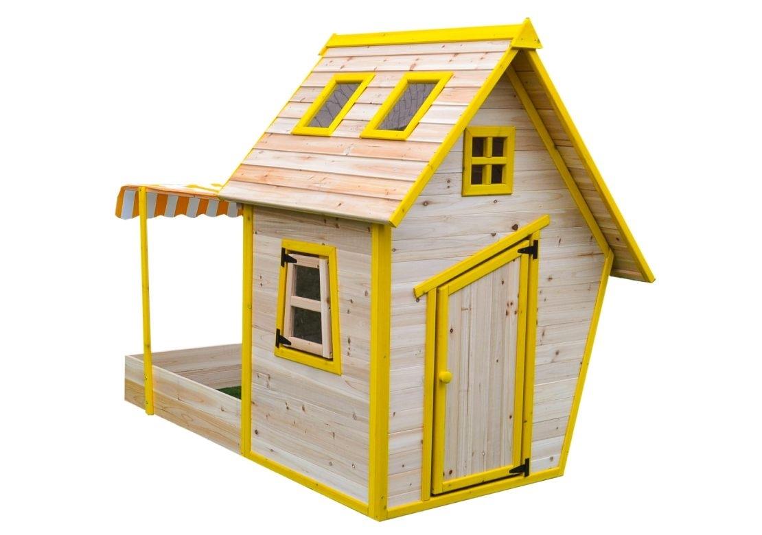 Levně Marimex Dětský dřevěný domeček s pískovištěm Flinky - 11640353