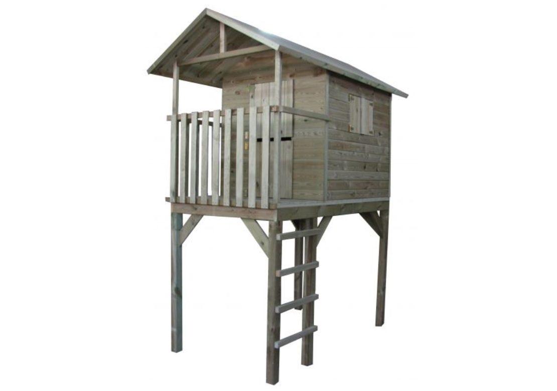 Marimex Dětský dřevěný domeček s žebříkem Vyhlídka - 11640372