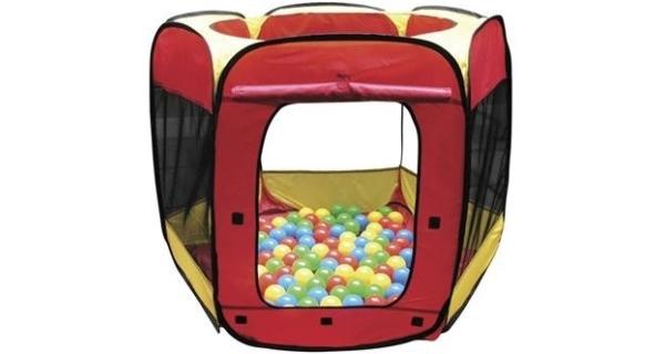Dětský stan Paradiso Toys + 100 ks balónků