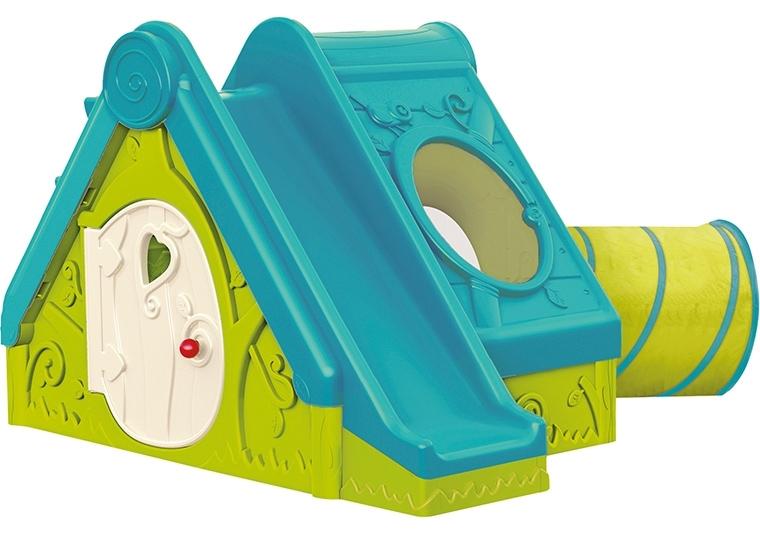 Marimex Domek FUNTIVITY PLAYHOUSE - zelená+ modrá - 11640123