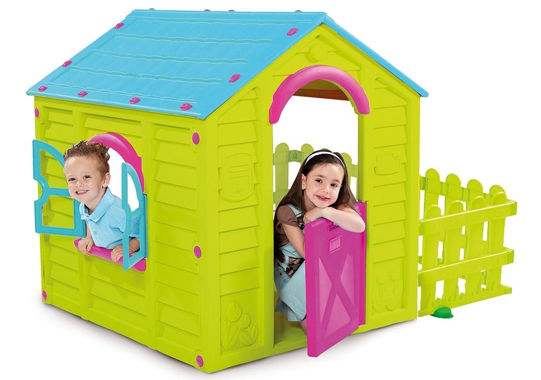 Rojaplast Domek MY GARDEN HOUSE - zelená + modrá - 11640124