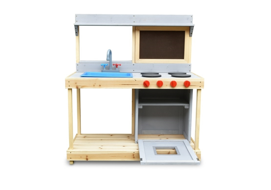 Marimex Dřevěná kuchyňka s tabulí - 11640444