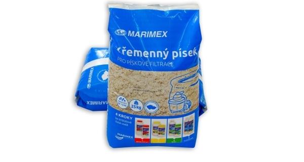 Filtrační písek - 25 kg v náhradním obalu
