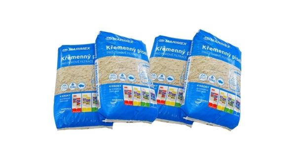 Filtrační písek - 4 x 25 kg
