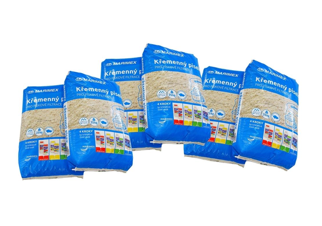 Marimex Filtrační písek - 6 x 25 kg - 106900026