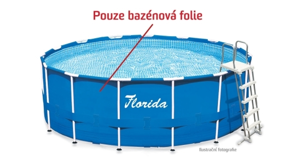 Folie bazénu Florida 3,05x0,76 m.