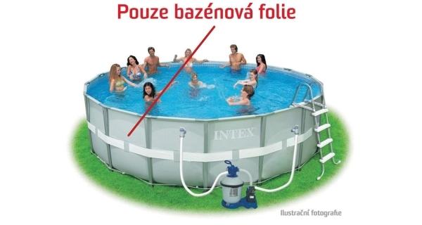 Folie pro bazén Florida Grey 4,88x1,22 m.