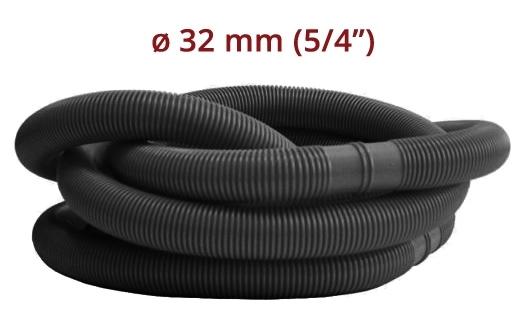 "Marimex Hadice v metráži Ø 5/4"" (32 mm) - díl 1,25m černá 8 kusů - 11001035"