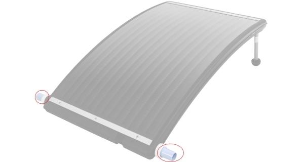 Hadicová adapter k solárnímu ohřevu Slim 3000