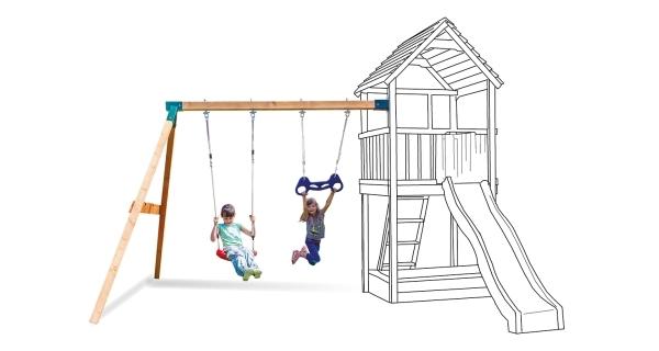 Houpačka k dětským hřištím Marimex Play 002 (přídavný modul)