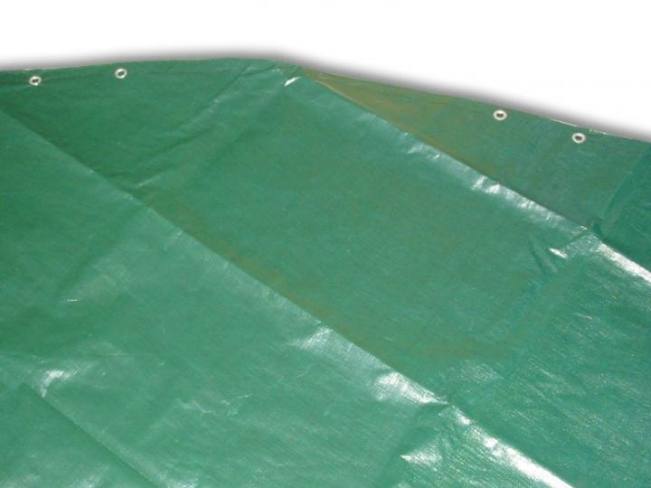 Marimex Krycí plachta kruhová pro bazény 4,57 m SUPREME - zelená - 104200051