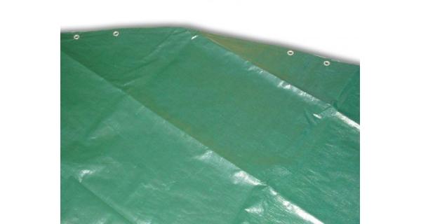 Krycí plachta pro oválné bazény Miami/Orlando Premium SUPREME 3,66 x 7,32 m - zelená
