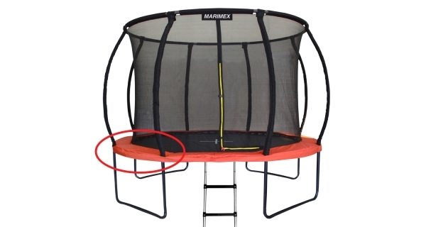 Kryt pružin oranžový - trampolína Marimex Premium 366 cm