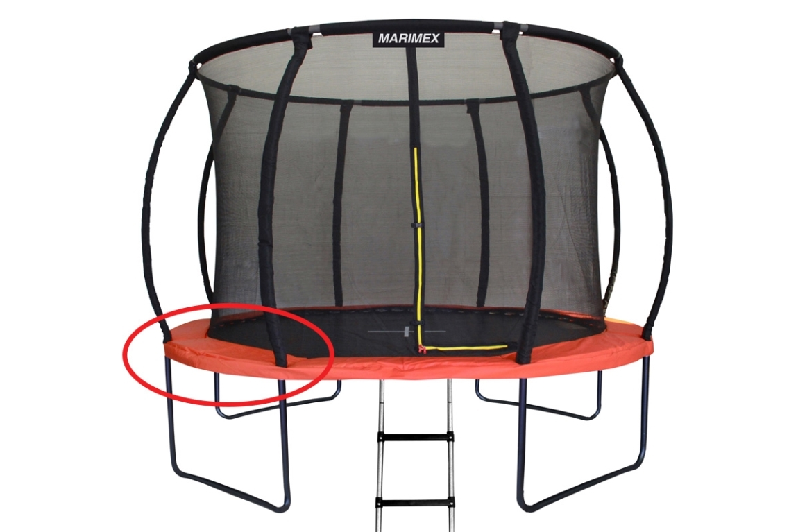 Marimex Kryt pružin oranžový - trampolína Marimex Premium 366 cm - 19000747