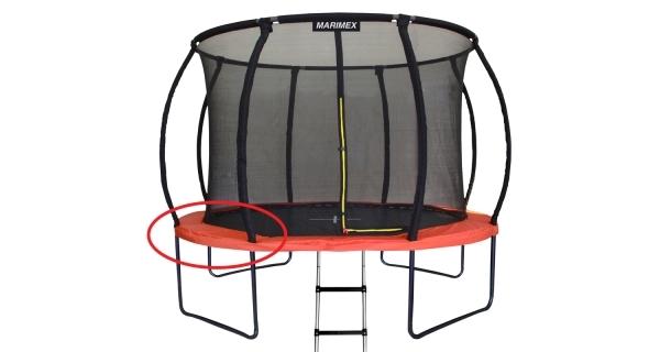 Kryt pružin oranžový - trampolína Marimex Premium 457 cm