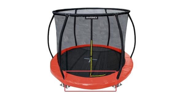 Kryt pružin oranžový - trampolína Marimex Premium in-ground 366 cm