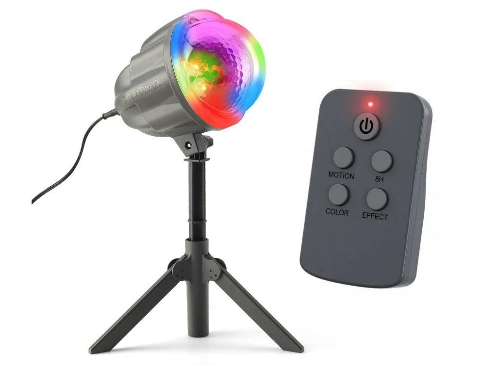 Laserový projektor vánoční - 4 barvy, 122 efektů, 132m2 - 18000183