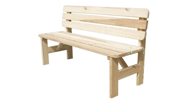 Lavice dřevěná Viking 180 cm